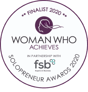 Woman Who Achieves Solopreneur Awards Finalist 2020 - Spring Accountancy Services