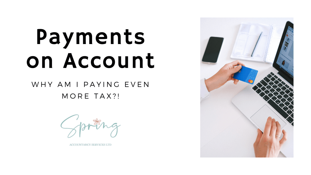 Self-Assessment Payments on Account