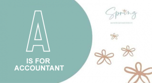 A IS FOR ACCOUNTANT